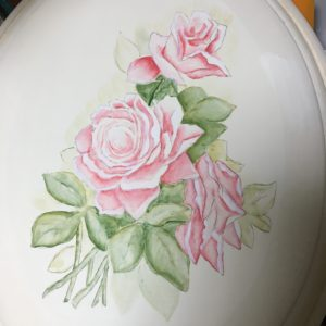 roses in folk arts